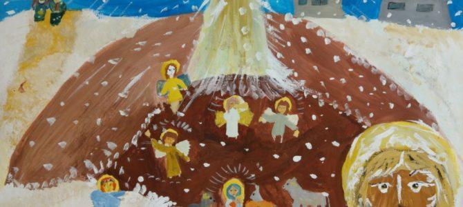В воскресной школе началась подготовка к епархиальному конкурсу творчества «Путешествие в Рождество»