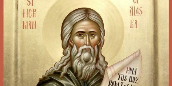 В день памяти Преподобного Германа Аляскинского в кафедральном соборе совершены праздничные Богослужения