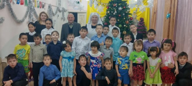 В детском доме города Дудинки прошли Рождественские мероприятия