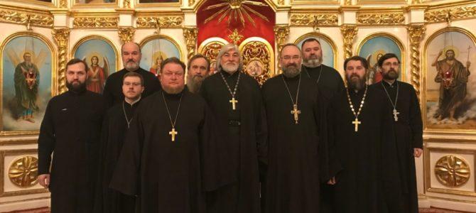 Состоялась общая исповедь духовенства Норильского благочиния