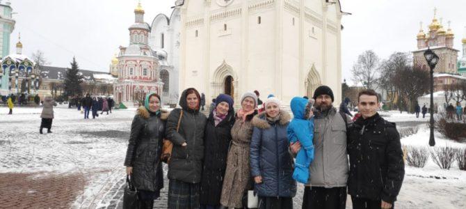 Делегация Норильской епархии посетила Свято-Троицкую Сергиеву Лавру